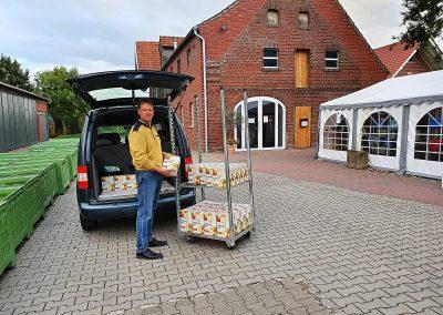 Mosterei Post Altenberge - Den eigenen Saft abholen